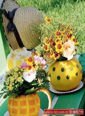 瓜果蔬菜总动员 打造最自然工艺