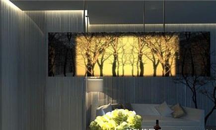 """感受树影的清雅 """"树影婆娑""""主题餐厅酒吧设计"""