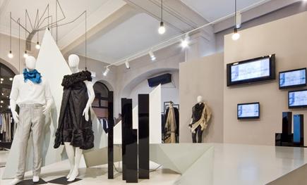布加勒斯特服装店室内设计