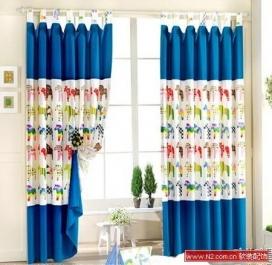 软装配饰——儿童房的窗帘艺术
