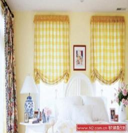 软装配饰——卧室的花样窗帘搭配