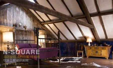 畸零空间极美转变 阁楼的卧室软装改造计划
