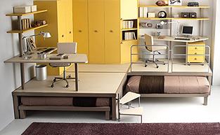 时尚复式公寓的软装配饰设计