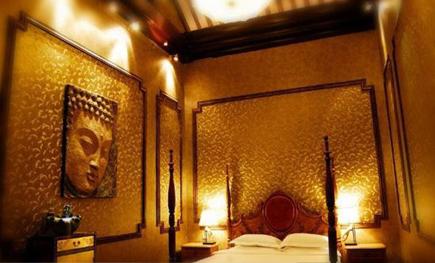 四合院酒店中式软装饰设计