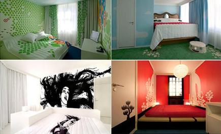 21位设计师拼贴的创意酒店设计