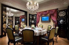 气派奢华欧式餐饮空间设计分享