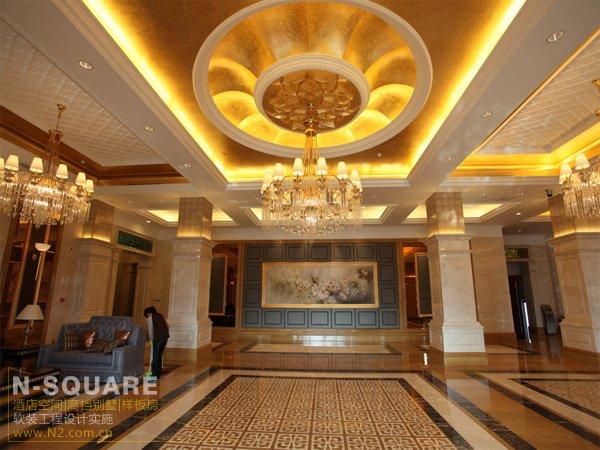 豪华欧式风格国际五星级酒店软装饰鉴赏