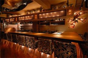 日式木桶元素造型饭店内部软装一览