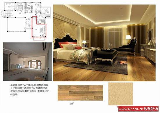 软装配饰——独栋别墅欧式软装饰设计方案鉴赏