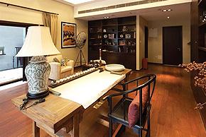 淳朴的中国情结 大气雅致别墅软装设计