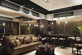 新中式样板房软装设计