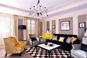 时尚简欧风格样板房配饰设计方案