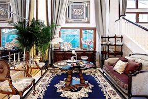 贵族的皇家风范 欧式大气别墅实木软装