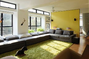 简约风格时尚样板房软装饰设计案例