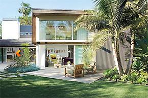 复古情致的混搭曲 南加州复式别墅软装设计