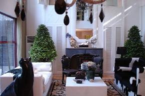 白领最爱 简欧白色复式样板房软装设计