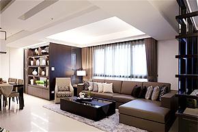 领略典雅中国情 黑橡木样板房软装设计