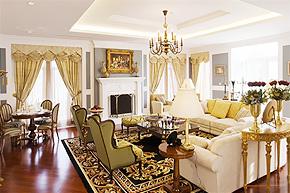 黄金舞踏曲响起 英伦风范王者别墅软装设计
