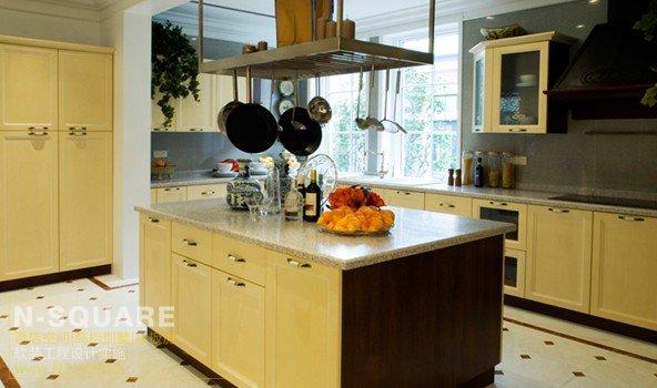 欧式典雅厨房;; 厨房装修-厨房装修效果图-厨房