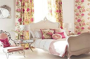 花枝的诱惑力 绝美婚房浪漫软装饰