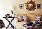 客厅地毯来装饰