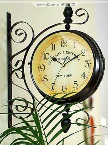 欧式复古钟表欣赏_n2软装设计