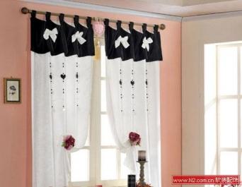 软装配饰——窗帘打造的少女情怀