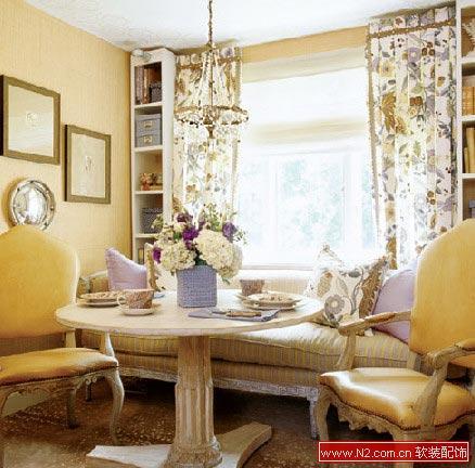 讲述窗帘与房间的色调搭配