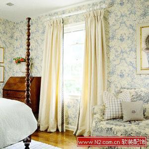 欧式圆弧窗窗帘