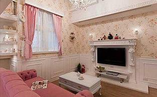 卡哇伊般的浪漫别墅软装设计