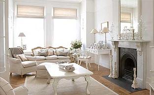 宁静而柔和 纯白色的别墅配饰设计