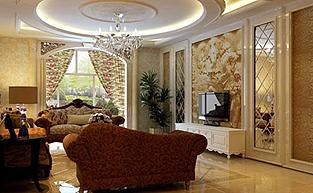 欧式别墅奢华的软装配饰