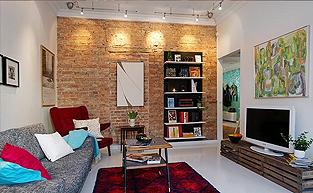 哥德堡风格的公寓软装设计