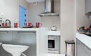 打造不规则空间厨房