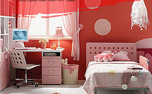 迎接崭新的一年 红色主题的家居布置