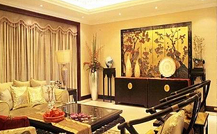 中式风格的装饰设计及软装陈设