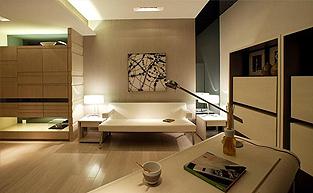 现代简约的样板房软装设计