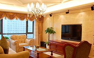 新奢华风格的样板房软装设计