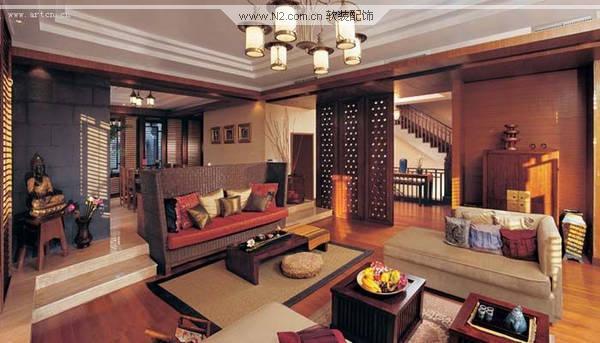 美式别墅 享受惬意的家居生活