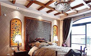 欧式风格的样板房软装配饰