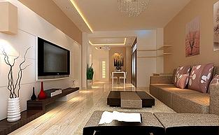 现代简约风格的样板房软装配饰