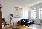 古朴元素尽显简约魅力 93平温馨公寓