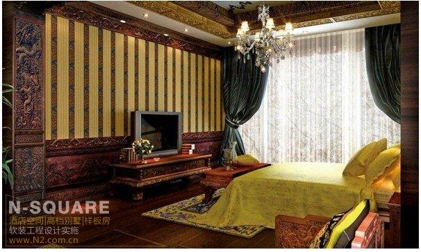奢华的古典中式软装饰设计案例