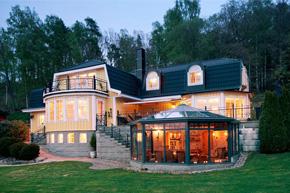 秀丽风光无限好 经典英式别墅软装设计