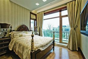 欧式奢华别墅软装 古典中带有清新感