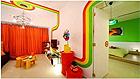 丰富多变的色彩 装点一个梦幻的快乐之家
