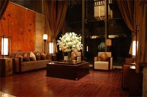简洁中式酒店会所软装设计