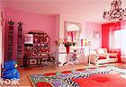 打造粉嫩可爱的公主房 4大空间的布置方案