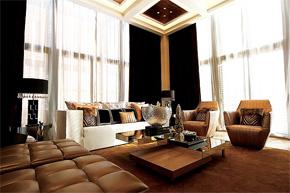 情迷新式古典风 华丽干练样板房软装饰