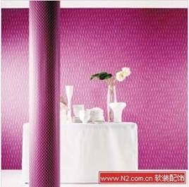 环保壁纸仔细看 居室整体风格相符